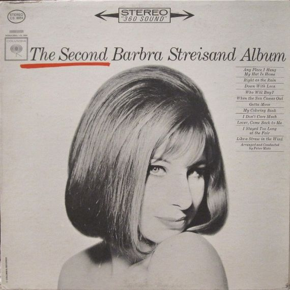 Barbra Streisand  The Second Barbra Streisand Album